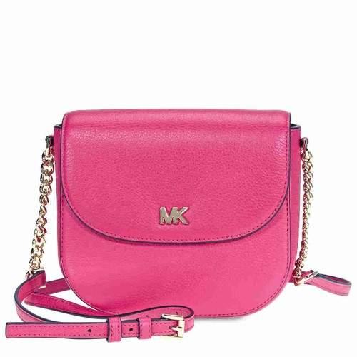 Michael Kors Mott Crossbody Bag- Ultra Pink - ULTRA PINK - STYLE