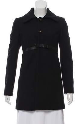 DSQUARED2 Short Wool-Blend Coat