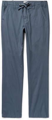 Hartford Troy Slim-Fit Cotton Drawstring Trousers