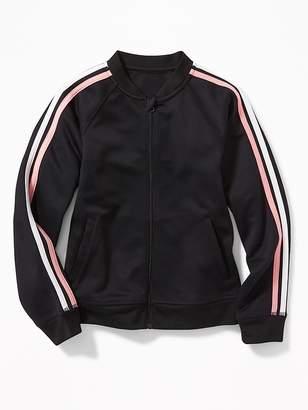 Old Navy Retro-Stripe Track Jacket for Girls