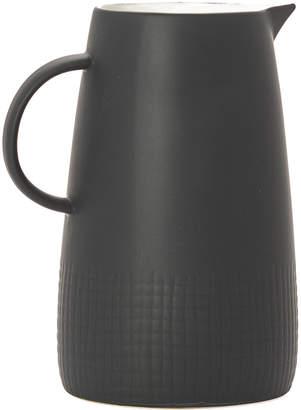 Torre & Tagus Avant Imprint Black Ceramic Pitcher