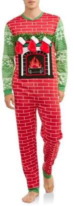 DEC 25TH Men's Sleep, Fill My Stocking Christmas Union Suit
