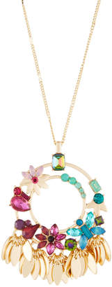 Fragments for Neiman Marcus Multicolor Flower Pendant Necklace