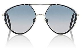 Balenciaga Women's BA 85 Sunglasses - Gold