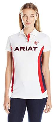 Ariat Women's Short Sleeve Team Polo