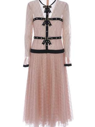 Philosophy di Lorenzo Serafini Floral Lace Dress