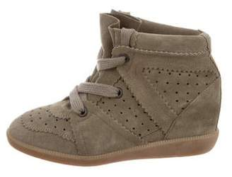 312310f86459 Isabel Marant Bobby Wedge Sneakers