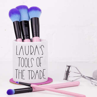 Tools of the Trade Elsie & Nell Personalised 'Tools Of The Trade' Makeup Brush Holder