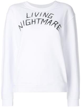 McQ living nightmare sweatshirt