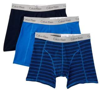 Calvin Klein Comfort Fit Boxer Briefs - Pack of 3