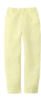 Oscar de la Renta Boys' Slim Linen Pant