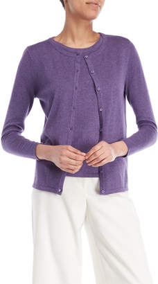 Qi Two-Piece Cardigan & Shell Top Sweater Set