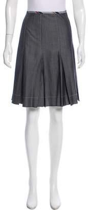 Paule Ka Wool Knee-Length Skirt