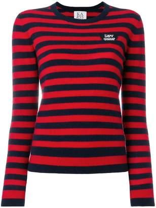 Zoe Karssen Let's Coast striped jumper