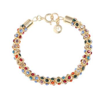 Gloria Vanderbilt Gold Tone 7.5 Inch Chain Bracelet