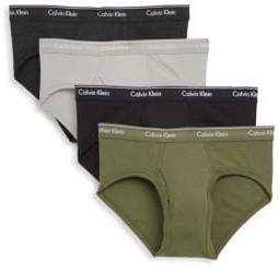 Calvin Klein Low Rise Briefs - 4 Pack