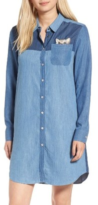 Women's Paul & Joe Sister Kitty Chambray Shirtdress