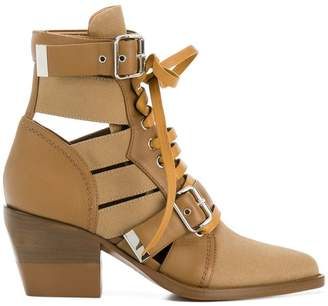 Chloé multi strap ankle boot