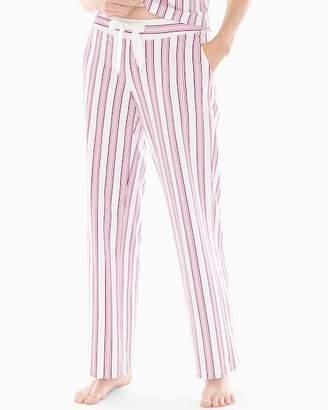 Embraceable Pajama Pants Noble Stripe Ivory RG
