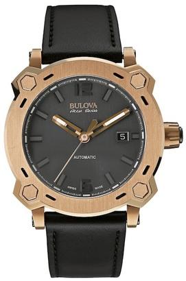 Bulova Men's Percheron Swiss Automatic Watch $1,395 thestylecure.com