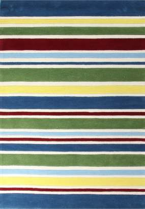Unitex International Kidding Around-stripes Rug Primary
