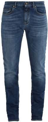 Saint Laurent Mid-rise skinny-fit jeans