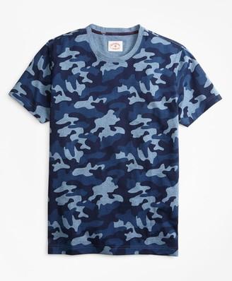 Brooks Brothers Camo-Print Cotton Jersey T-Shirt