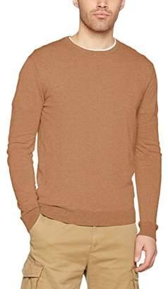 Benetton Men's Sweater L/s Sweatshirt, (Dark Blue 06u), X-Large
