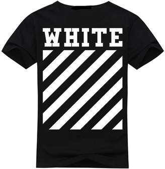 Off-White Apparel Men's T-Shirt Short Sleeves Logo in Back