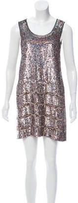 Derek Lam Sequined Shift Dress