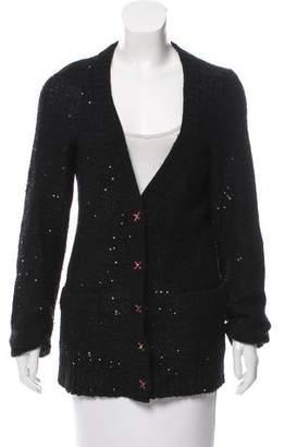 Leifsdottir Embellished Knit Cardigan