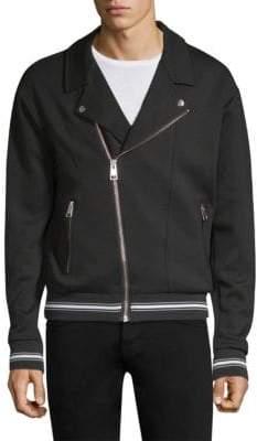 The Kooples Asymmetric Zip-Up Jacket