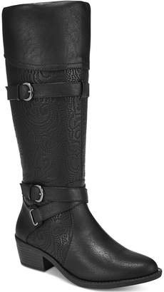Easy Street Shoes Kelsa Wide-Calf Riding Boots Women Shoes