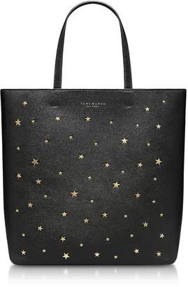 At Forzieri Tory Burch Black Star Studs Small Tote Bag