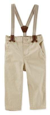 Expedition Suspender Pants in Khaki