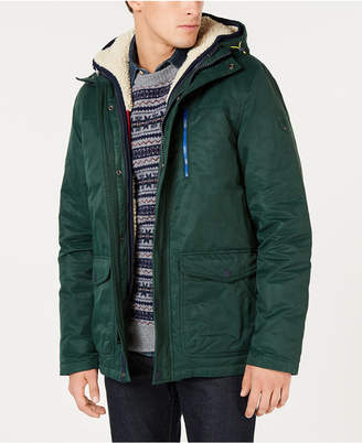 Tommy Hilfiger Men's Hilltop Hooded Coat with Detachable Fleece Vest