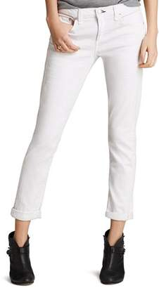 Rag & Bone The Dre Slim Boyfriend Jeans in Aged Bright White