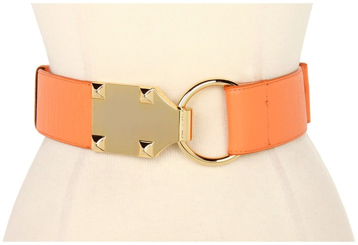 Vince Camuto 2 Hook Lock Belt (Coral) - Apparel