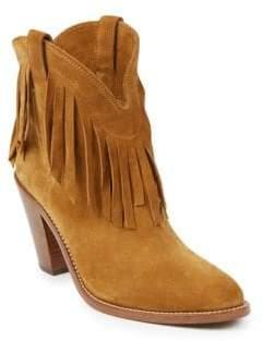 Saint Laurent Curtis Suede Western Boots
