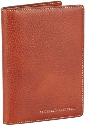 Brunello Cucinelli Leather Travel Wallet
