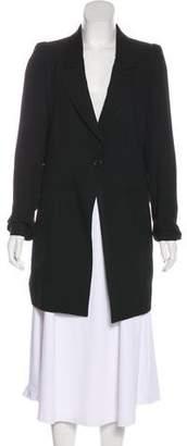 Ann Demeulemeester Wool Structured Blazer