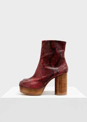 Maison Margiela Platform Snake Tabi Boot