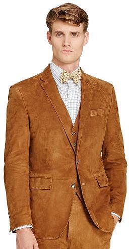Polo Ralph LaurenPolo Ralph Lauren Connery Suede Suit Jacket