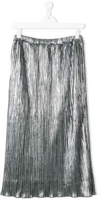 Diesel long pleated skirt