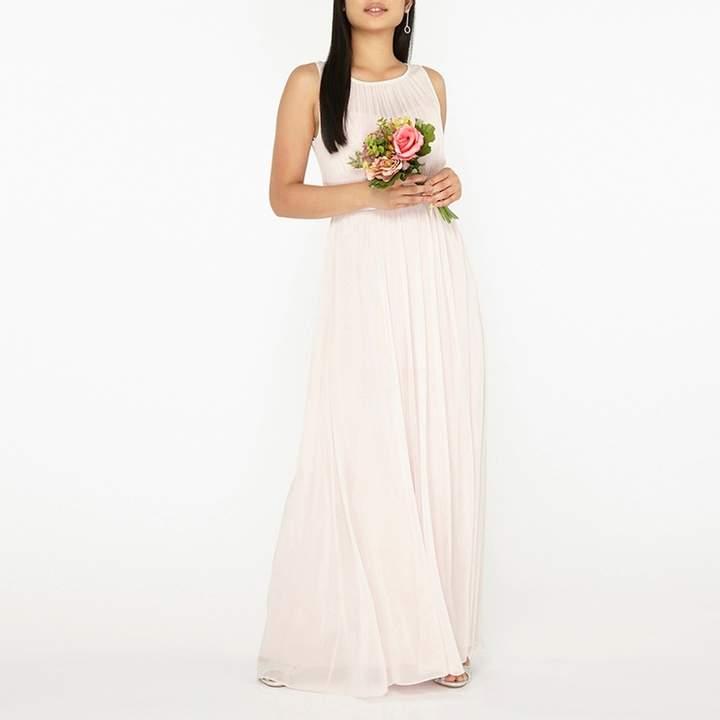 Petite Blush Natalie Maxi Dress