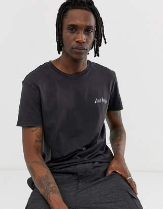 Cheap Monday t-shirt with electric logo in black