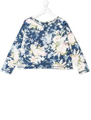 Ralph Lauren floral jersey top
