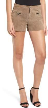 Blank NYC BLANKNYC Suede Shorts
