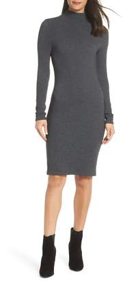 French Connection Petra Textured Rib Body-Con Dress