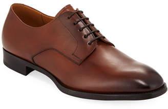 Giorgio Armani Men's York Smooth Leather Derby Oxfords